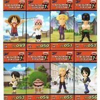 One Piece World Collectable Figure Vol.7 Complete Set of 8 Banpresto Japan