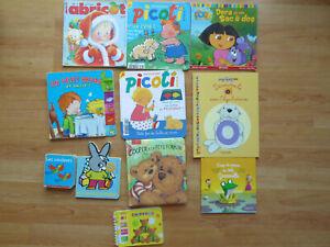 Lot 11 livres Bébés Enfants Picoti Dora Cooper Abricot les Chiffres Les Couleurs