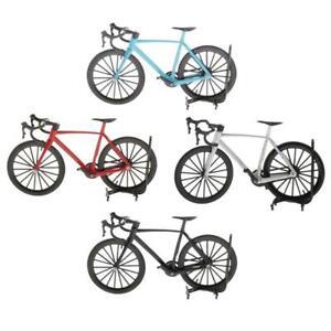 Mini Metal Diecast Bicycle Bike Model Dollhouse Miniature Ornament Decor