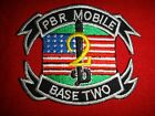 US Navy PBR MOBILE BASE TWO Vietnam War Patch