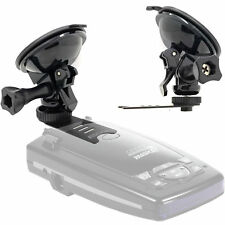 Escort Solo S2 S3 & Beltronics RX65 GX65 v8 Radar Detector Strong Suction Mount