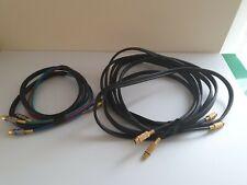 1 High Performance 5m.OFC Copper  Cable HIFI Audio,Tv,etc  Plug Plus Bonus