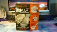 Vintage New Old Stock Mirro-Matic Metal Twinset Baskets for 4 Quart Pressure Pan