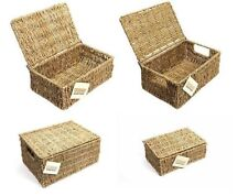 Seagrass Decorative Baskets with Handle