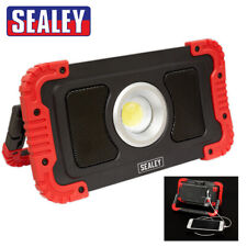 Sealey Rechargeable Wireless Speaker Work Light 20W COB LED + Power Bank Charger