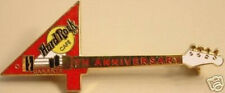 "Hard Rock Cafe JAKARTA 2000 4th Anniversary PIN Red ""4"" Guitar HRC Catalog #3813"