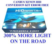 CANBUS XENON HID  KIT ERROR FREE H3 6000K  55W 300% MORE LIGHT IN THE ROAD