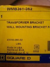 Square D WMB361-362 TRANSFORMER WALL MOUNTING BRACKET