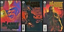 Planet of the Apes Human War POTA Comic full set 1-2-3 Lot Dynamic Forces Ltd Ed