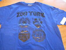 Men's Zoo York  XL blue T shirt surf skate $25.00 NEW
