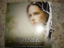 SPEAK EMMY DVD SHOWTIME DATE RAPE KRISTEN STEWART STEVE ZAHN ELIZABETH PERKINS
