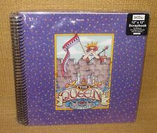 Mary Engelbreit | *NEW* Queen of Everything Scrapbook 20 Protectors 40 Sheets