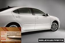 Lexus ES350 ES300H (2013-2016) OEM BODY SIDE MOLDINGS SET (Silver Lining) (1J4)