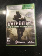 NEW Call of Duty 4: Modern Warfare Platinum Hits (Microsoft Xbox 360 New Sealed