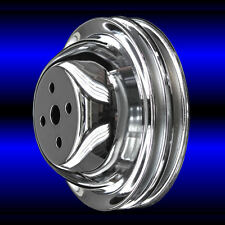 Water Pump Pulley For Big Block Chevy Short Water Pump 396 427 454 Chrome Bbc