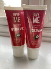 give me argan oil coconut oil hair mask X2