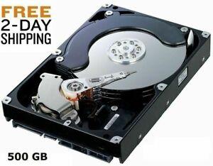 Hard Drive 500 GB Internal SATA 3.5 -  FOR FLOUREON DVR   FAST SHIPPING!