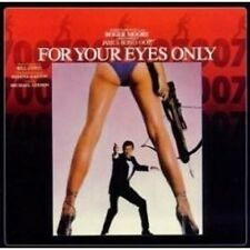 For your eyes only (remaster) CD OST NEUF