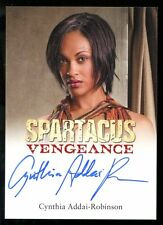 2013 Spartacus Vengeance Expansion Set AUTO/Autograph - Cynthia Addai-Robinson