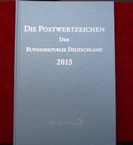 BRD Bund Die Postwertzeichen der Bundesrepublik Deutschland 2015 postfrisch