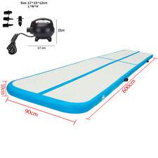 3/6m Inflatable Air Track Tumbling Mat Gymnastics Mats Training Floor Yoga Home