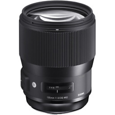 Sigma 135mm F1.8 DG HSM Art Series Lens: Canon EF Mount