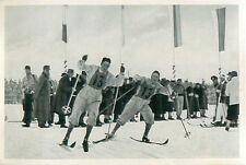 Hoffsbakken Hagen Norway Cross-country skiing 4x10 km OLYMPIC GAMES 1936 CARD