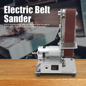 9000r/min Mitre Electric Disc Belt Sander Bench Grinder Workshop Sanding Machine