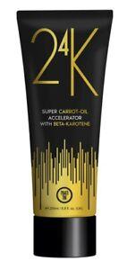 Power Tan 24K Super Carrot Oil Sunbed Tanning Accelerator Lotion 250ml