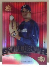 2005 Upper Deck Future Reflections Luis Pena Rookie RC #D /99 - Red Parallel