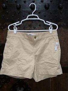 "NWT- OLD NAVY Beige / Tan / Khaki 5"" shorts Size 10"