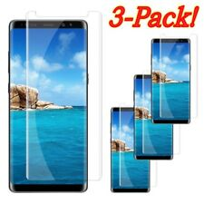 Case Friendly 3D Tempered Glass Screen Protector F Samsung Galaxy Note 8 9 S8 S9