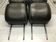 2010 Ford Fusion Lincoln MKZ Mercury Milan Black Leather Headrest Front 647