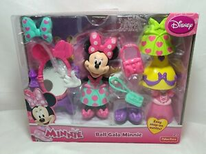 Fisher Price Disney Ball Gala Minnie Dress Up Toy Ages 2+ NEW in Box