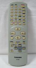 Toshiba VC-P2S TV/VCR Combo Remote MV13P2, MV13P2C, MV20P2, MV20P2C, MD20P2