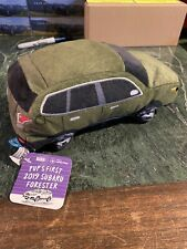 NEW Dog TOY Pup's First 2019 Subaru Forester Plush Squeak Toy