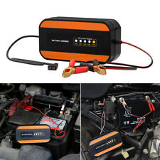 110V 220V Motorcycle Car Lead-Acid Battery Charger Digital Pulse Repair Tools 1x