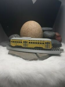 150$ NEW! HO SCALE SHAKER HEIGHTS BOWSER TROLLY TRAIN STREETCAR ENGINE SOUNDS