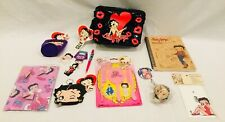 NEW BETTY BOOP Lot-12 Collectibles - Lunch Box, Journal, Coozie,Frame,Wallet #4