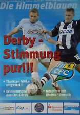 Programme 2005/06 Chemintz FC CZ Jena