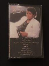 Vintage 1982 Michael Jackson Thriller Audio Cassette Tape Factory Sealed NEW