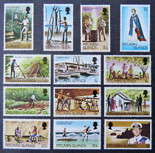 1977-81 Pitcairn Island Decimal Stamps - British Colony Definitives - Set 13 MNH