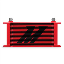 Mishimoto Universal 19 Row Oil Cooler - Red - MMOC-19RD