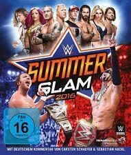 WWE Summerslam 2016 [Blu-ray] *NEU* Deutscher Kommentar / Deutsch Orton, Lesnar