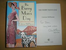 CATRIONA MCPHERSON - THE BURRY MAN'S DAY 1st/1st HB/DJ 2006 SGNED,LINED & DATED