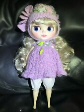 Blythe Doll Silver Hair Fat Chubby (Pregnant) Nude Outfit Not Included