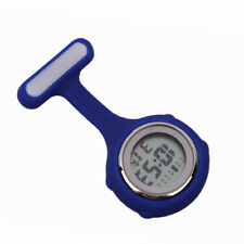 Multi-function Digital Silicone Nurse Watch Fob Watch with Quartz Movement HOT