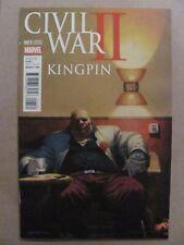 Civil War II Kingpin #1 Marvel Comics 2016 Series Variant 9.6 Near Mint+