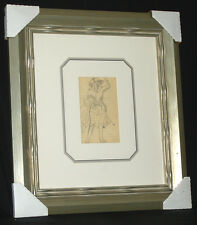 Ludovic (RODO) Pissarro RARE ORIGINAL PENCIL SKETCH Signed 75%OFF $4000R