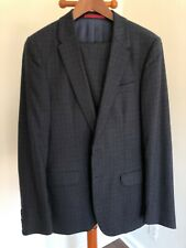 Suitsupply Paul Smith Black Blue Size 38 Great condition